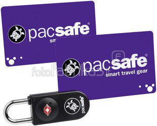 Pacsafe Prosafe 750 TSA Key-Card Lock Black