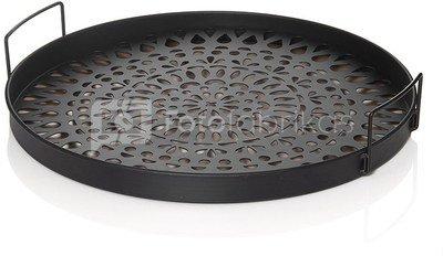 Padėklas metalinis diam 40 cm TOYJ16-008 SAVEX