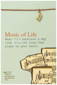 "Pakabukas ""Music of Life"" H:12 W:8 cm LF190"