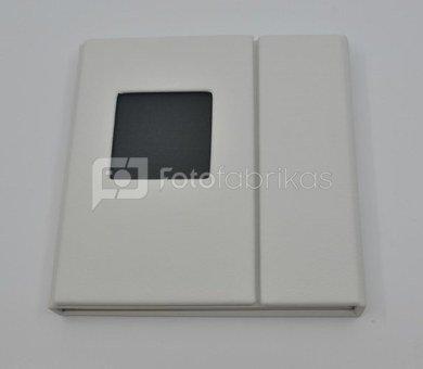 Palazzo fur2 CD/DVD box17x17cm,weis
