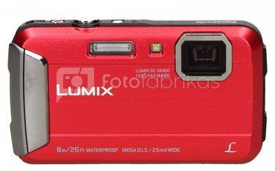 Panasonic DMC-FT30 (raudonas)