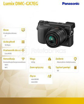 Panasonic DMC-GX-7-K + 14-42mm