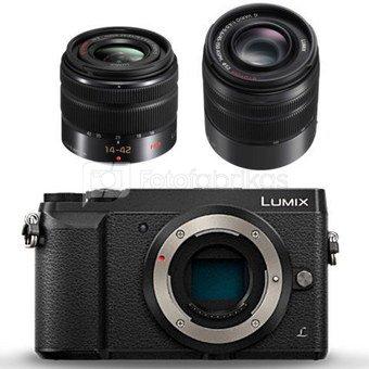 Panasonic Lumix DMC-GX80 + 14-42mm + 45-150mm