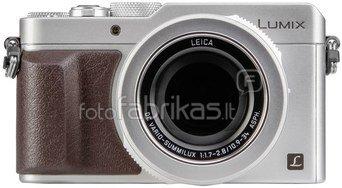 Panasonic DMC-LX100 (sidabrinis)