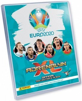 Panini football card album UEFA Euro 2020 Adrenalyn XL