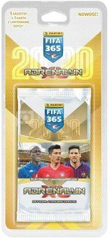Panini football cards FIFA 365 2020 5+1