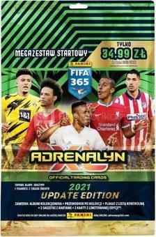 Panini football cards FIFA 365 2021 Megastarter