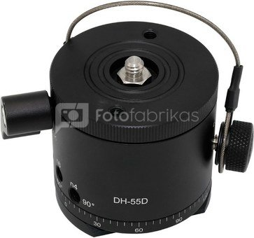 Caruba Panoramakop Kliksysteem   roterende topring (DH 55D)