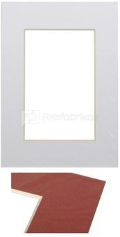 Passepartout 15x21, ultra white