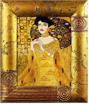 Paveikslas Klimt. Adele Bloch Bauer 27x32cm 86587 (G16124)