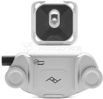 Peak Design camera clip Capture V3, silver