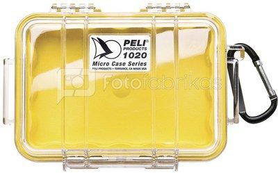 Peli Micro Case 1020 yellow / transparent