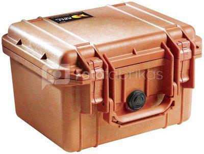 Peli Protector 1300 orange with pre-cut foam