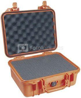 Peli Protector 1450 orange with foam-pad