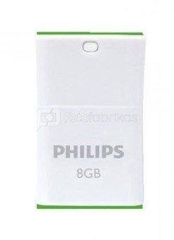 Philips USB 2.0 8GB Pico Edition Green