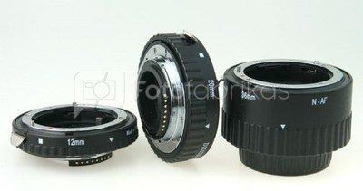 Phottix zestaw 3 pierścieni makro AF N