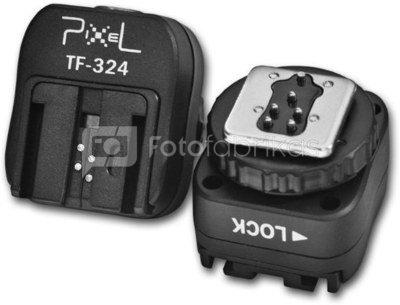 Pixel Hotshoe Adapter TF-324 for Sony Camera Speedlite Flash Guns