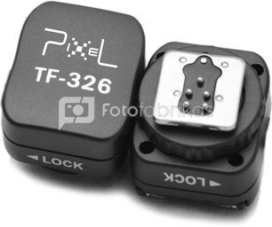 Pixel Hotshoe Adapter with X-Contact TF-326 for Canon