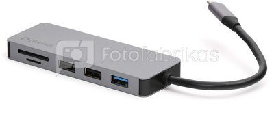 Platinet adapter USB-C 7in1 4K (45221)