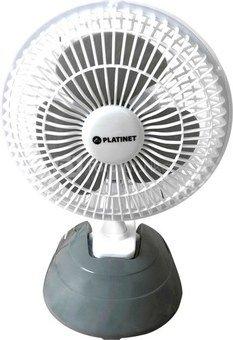 """Platinet fan 6"""", grey (44742)"""