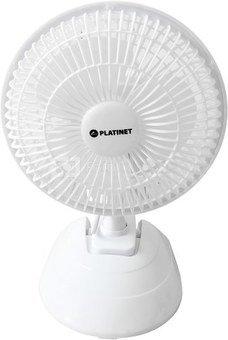 """Platinet fan 6"""", white (44740)"""