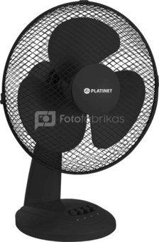 """Platinet fan 9"""", black (44744)"""