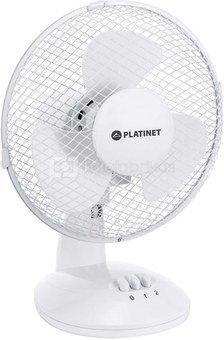 """Platinet fan 9"""", white (44743)"""