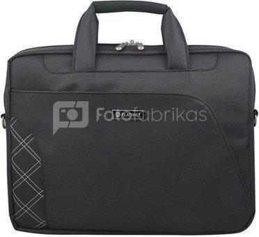 """Platinet laptop bag 15,6"""" Stripe, black (41732)"""