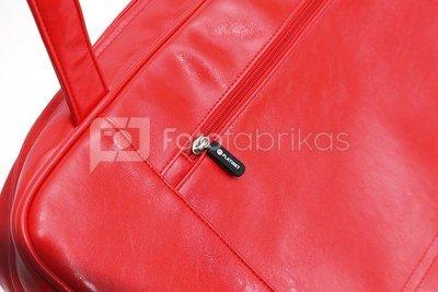 "Platinet notebook bag 15.6"" Philadelphia, red"