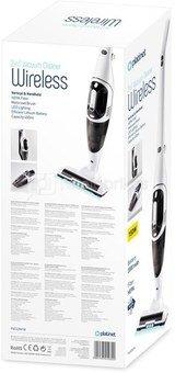 Platinet stick vacuum cleaner 2in1, white (45030)