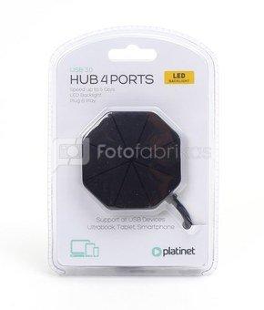 Platinet USB hub 4-port USB 3.0 (45222)