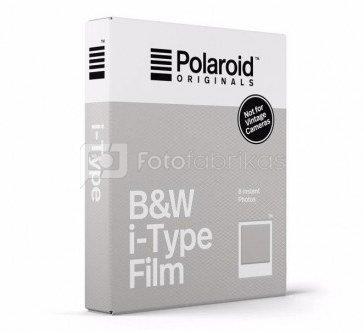 Plokštelės Polaroid Originals B&W for l-Type (nespalvotos)