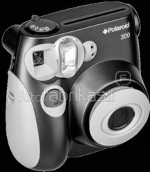 Polaroid 300 (Juodas)