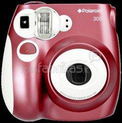 Polaroid 300 momentinis fotoaparatas raudonas