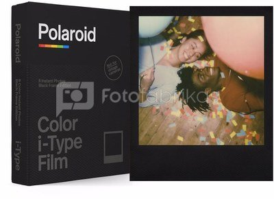 POLAROID COLOR FILM I-TYPE BLACK FRAME EDITION
