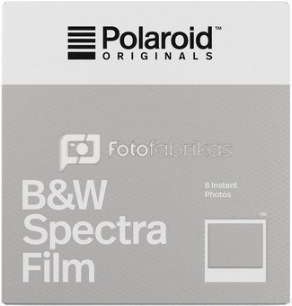 Polaroid Originals Fotoplokštelės B&W SPECTRA 8vnt.
