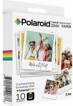 POLAROID INSTANT ZINK MEDIA 3X4 POP 10 PACK
