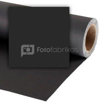 Popierinis fonas Colorama 2,72x11m Black