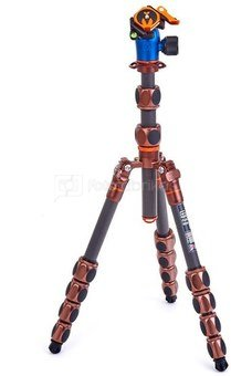3 Legged Thing Pro 2.0 Leo Carbon tripod & AirHed Pro LV Bronze
