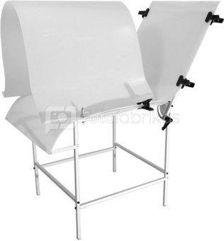 Produktų fotografavimo stalas 60x130cm + difuzorius