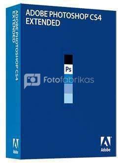 Programinė įranga Photoshop Extended CS4 Windows Retail
