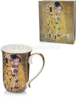 Puodelis arbatai Klimt paveikslo Bučinys motyvais 12,5x12,5x8,5cm 106580 (11482)