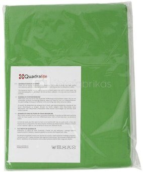 Quadralite žalias tekstilinis fonas 2,85x6m