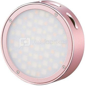 Godox R1 Mobile RGB LED light (Pink body)