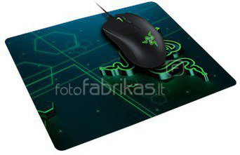 Razer Goliathus Mobile Black, Gaming Mouse Pad, Rubberized base, 215 x 279 x 1.5 mm
