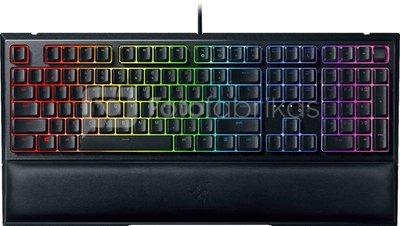 Razer Ornata V2, Gaming keyboard, RGB LED light, Russian, Black, Wired