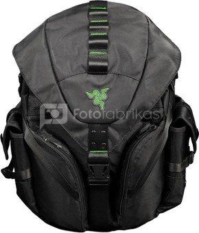 "Razer Mercenary Fits up to size 14 "", Black, Shoulder strap, Backpack, Waterproof"