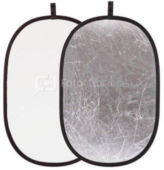 Reflektorius 2in1 Silver/White 60x90cm