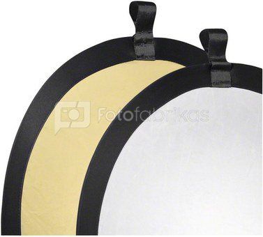 walimex Foldable Reflector gold/silver, Ø56cm