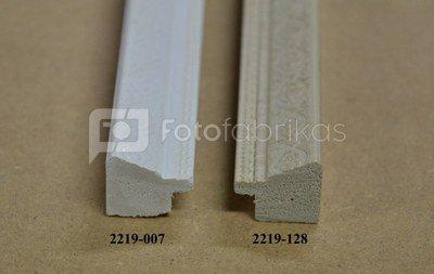 Rėmelis 13x18 plast 2219-007 | baltas| su ornamentais| 21mm [E]